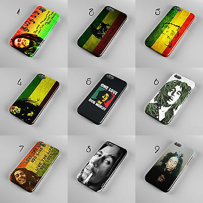Bob Marley Jamaican Reggae Singer Flag 3d Phone Case Cover For Iphone Samsung • 19.99£