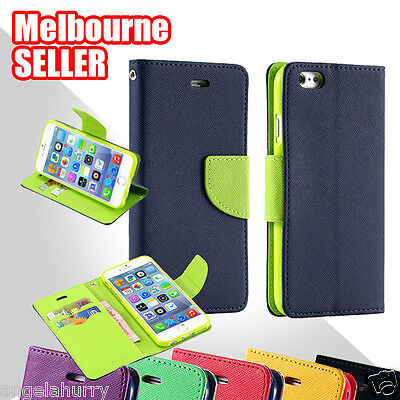 AU5.99 • Buy NEW IPhone 6S, 6S Plus Case For Apple - Leather Flip Wallet Gel Cover