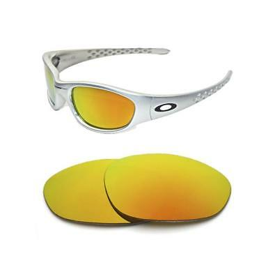 New Polarized Fire Red Replacement Lens For Oakley Vintage Xx Ten Sunglasses • 22.99£