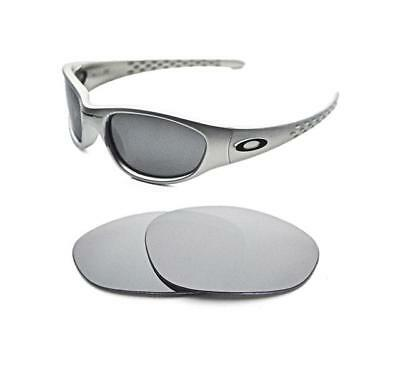 New Polarized Silver Ice Replacement Lens For Oakley Vintage Xx Ten Sunglasses • 22.99£