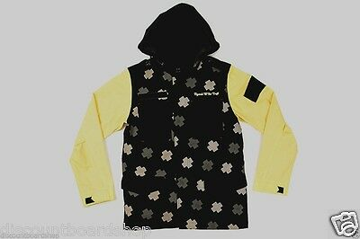 $89.99 • Buy Pink Dolphin M65 Jacket Black Yellow Tan Hooded Pockets Discounted Men's Jacket
