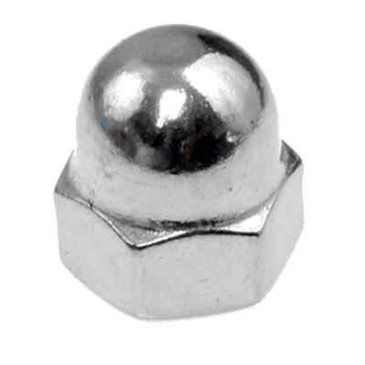 AU9 • Buy Qty 10 Dome Nut M8 (8mm) Stainless Steel 1 Piece Acorn 304 A2 70 SS