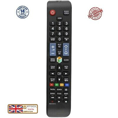 £4.95 • Buy Replacement Remote Control For Samsung 3D Smart TV Works 2008 -2019 TV Models