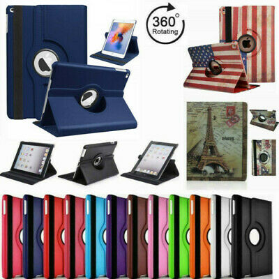 $6.75 • Buy 360° Rotating Folio Retina Smart  Stand PU Leather  Case Cover  For  IPad AIR 1