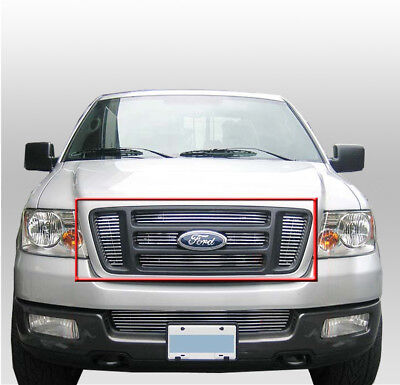 $44.95 • Buy 04-08 Ford F150 F-150 Pickup Main Upper Billet Grille Grill Insert 6pcs 05 06 07