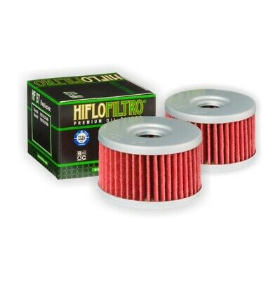 AU34.93 • Buy HiFlo HF137 Oil Filter Two Pack For Suzuki DR650 Se 1997 To 2014