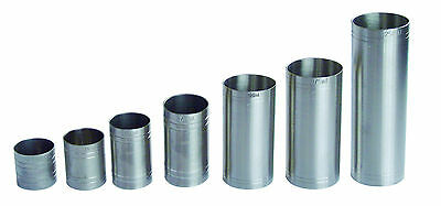 £4.49 • Buy Stainless Steel Thimble Spirit Shot Measures 25/35/50/70/125/175/250 Ml And Sets
