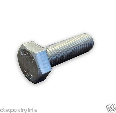 $1.76 • Buy Hex Head Bolts Screws M3 M4 M5 M6 M8 M10 M12 Stainless Steel A2 X 10