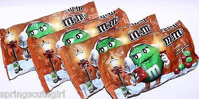 $21.99 • Buy 4 Bag M&m's PEANUT BUTTER Chocolate Candy 11.40 Oz Candies Christmas