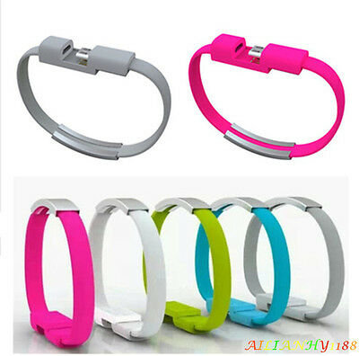 $0.80 • Buy USB/Bracelet Wristband Charging Data Sync Cable Line For IPhone5/6 Andriod