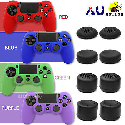 AU5.95 • Buy Analog PS4 Controller Thumb Stick Grip Thumbstick Cap Cover Soft Silicone Case