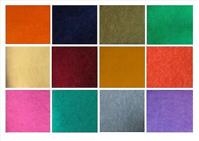 100% Polyester Felt Fabric, With A Wool Feel, Ideal For Craft 77cm Wide • 2.65£