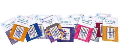 Sewing Machine Needles Schmetz - BUY 2, GET 3rd PACKET FREE + Fast UK Dispatch! • 4.49£