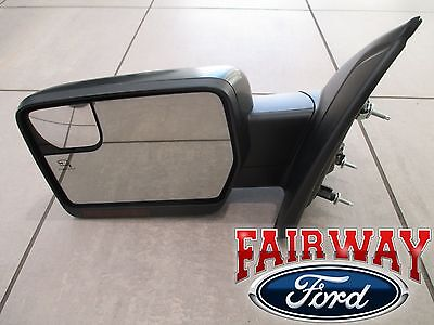 $539.95 • Buy 11 Thru 14 F-150 OEM Ford Power Fold Heated Signal Puddle Mirror LH Driver NEW