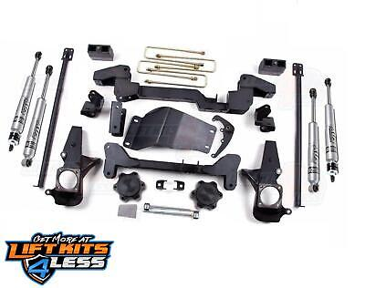 $1595.95 • Buy Zone Offroad C4N 6  Lift Kit W/Fox Shocks For 2001-2010 Chevy GM 2500 HD 3500 HD
