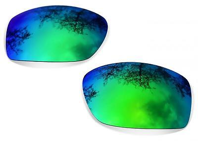 New SURE Polarized Replacement Lenses For Oakley Ten (X) ( Sapphire Green ) • 19£