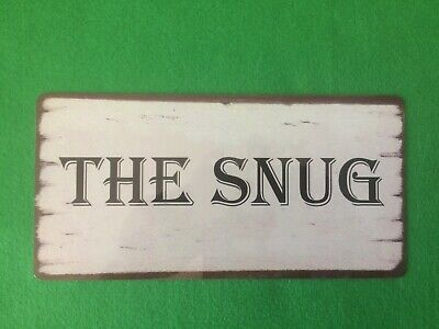 £5.69 • Buy The Snug Sign Shabby Chic Plaque Indoor Or Outdoor Cosy Room