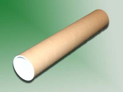 $6.99 • Buy 10 - 2  X 12  Cardboard Mailing Shipping Tubes W/ End Caps