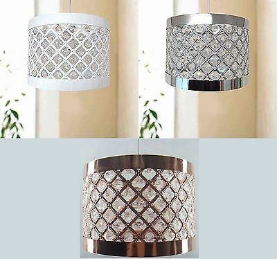 £16.90 • Buy Easy Fit Moda Sparkly Ceiling Pendant Light Shade Fitting Modern Decoration New