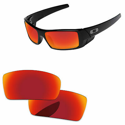 b51499f60f PapaViva Fire Red Mirror Polarized Replacement Lenses For-Oakley Gascan  Sunglass • 14.98