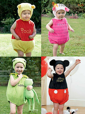 Disney Baby Toddler Muppets Winnie The Pooh Bear Mickey Fancy Dress Costume Gift • 11.95£