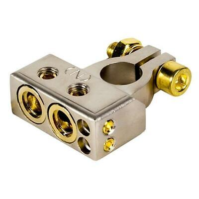 NEW STINGER POSITIVE OR NEGATIVE CAR TRUCK NICKEL PLATED BATTERY TERMINAL CLAMP