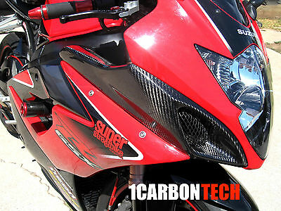$379 • Buy 05 06 2005 2006 Suzuki Gsxr 1000 Carbon Fiber Ram Air Intake Covers