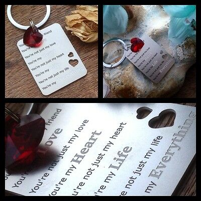 Gifts For Him Mens Her Valentines Day Womens I Love You Romantic Red Heart K1 • 6.99£