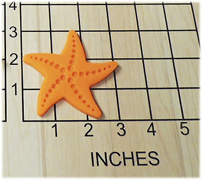 Star Fish Shaped Fondant Cookie Cutter And Stamp #1146 • 3.06£