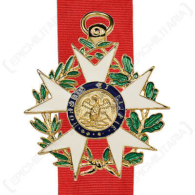 French Legion Of Honour MEDAL Repro National Order Decoration With Ribbon • 15.95£