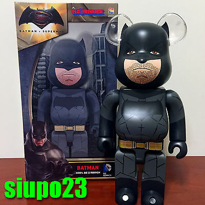 $119.99 • Buy Medicom 400% Bearbrick ~ DC Comics Batman Be@rbrick Batman Vs Superman Ver