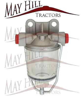 Fordson Major Tractor Fuel Filter Bowl Assembly - Fuel Feeds Left To Right • 13.42£