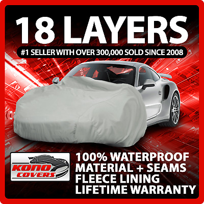 $41.95 • Buy 18 Layer Car Cover - Outdoor Waterproof Scratchproof Breathable