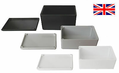 £5.90 • Buy ABS Plastic Small Tiny Enclosure Project Boxes- UK Made- Ideal For Electronics