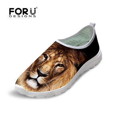 0c3f6cff3f9 Animal Print Mens Mesh Running Shoes Slip-on Breathable Casual Sport  Sneakers • 23.49