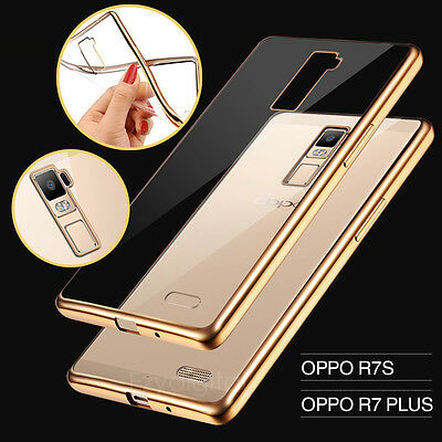 AU6.99 • Buy Ultra Slim Crystal Shinning TPU Gel Case Cover For Oppo R7S R9 F1S R9S A57 A77