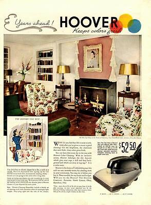 1939-Hoover Vacuum Cleaner-Fire Safe House/New York World's Fair-Vtg Ad Print • 15.66£