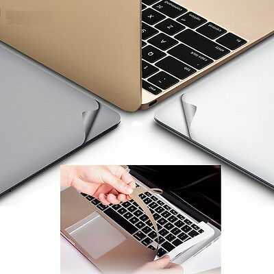 $19.32 • Buy 3M Sticker Decal Skin Film Soft Cover Case Protector For MacBook 12 A1534 Retina