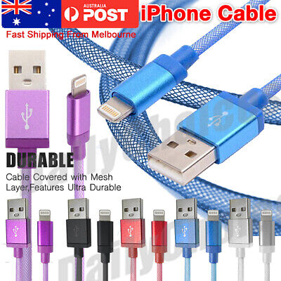 AU8.70 • Buy USB Data Charging Cable Charger Cord For Apple IPhone XS XR X 8 7 Plus 6 5 IPad