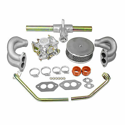 $179.95 • Buy VW 34 PICT-3 Carburetor Kit With Air-Filter Type 1 And 2 VOLKSWAGEN Bug Bus Ghia