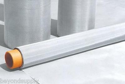 48 Micron Stainless Steel 300 Mesh 316L Woven Wire Filtration Oil Screen 24 X48  • 67.90£