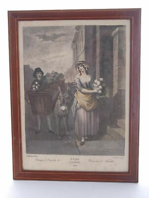 £18.90 • Buy F.Wheatley Cries Of London Early 19th Century Plate 13 Colour Print