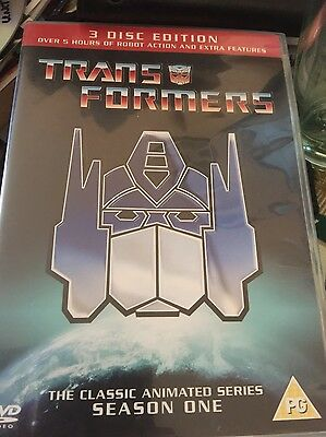 £9.99 • Buy Transformers Classic Animated Series Series One DVD R2 - 3 Disc -