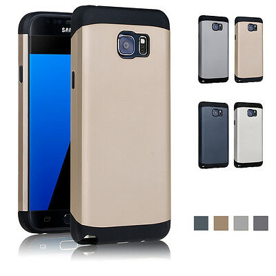 AU8.99 • Buy Armor ShockProof Tough Strong Case Cover For Samsung Galaxy S7 S8 Plus & S7 Edge