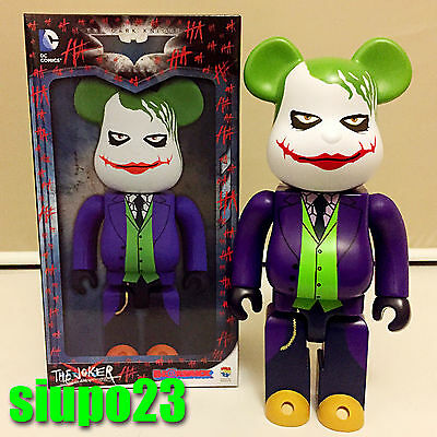 $239.99 • Buy Medicom 400% Bearbrick ~ DC Comics The Joker Be@rbrick Why So Serious Batman