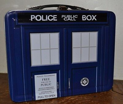 £13.61 • Buy Doctor Who BBC Metal Lunch Tin Dalek Brand New Police Public Call Box 8.75 X 7