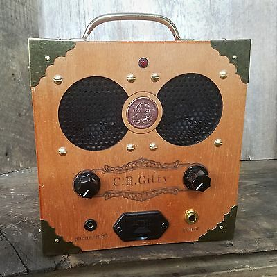 $ CDN130.90 • Buy The  Copper Cent  Cigar Box Amplifier: Vintage Coin, Classic Look, Awesome Sound
