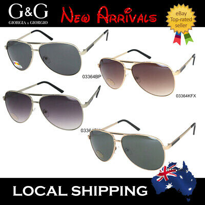 AU20.65 • Buy Vintage Mens' Ladies' Aviator Sunglasses/Polarized Ava Flat Top