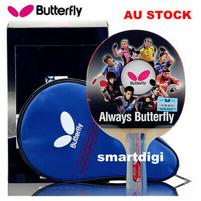 AU52.95 • Buy Butterfly 4 Star 401 Short Handle/ Penhold Table Tennis Ping Pong Racket Bats AU