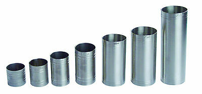 £19.99 • Buy Stainless Steel Thimble Bar Measures For Spirits & Wine 7 Piece Bar Thimble Set